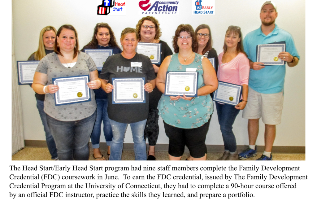 Head Start & Early HS Staff Find Success at School!